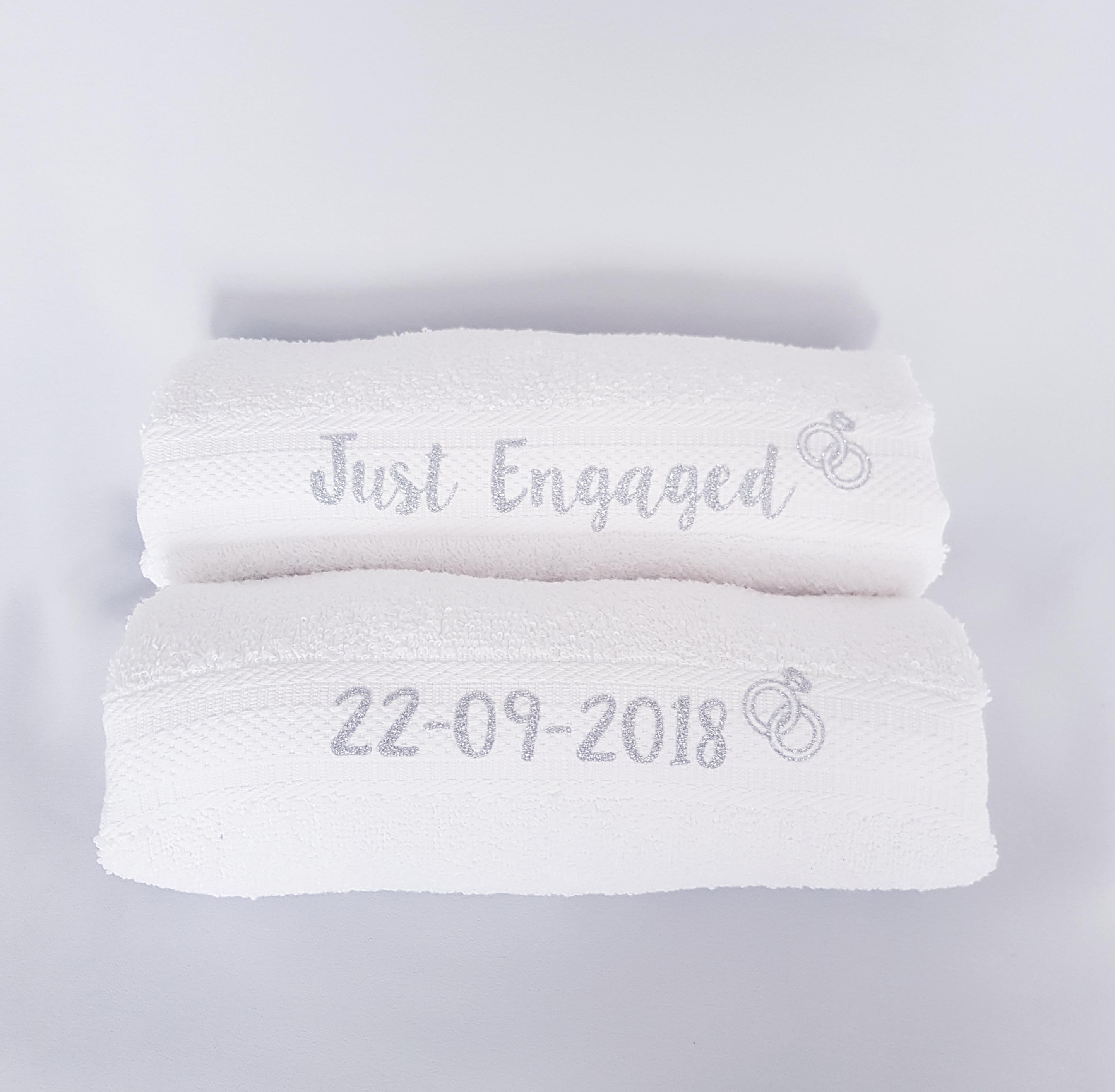 Just Married Handdoek.Handdoek